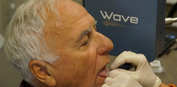 Wave Speech Research System Sensor Application to Tongue Blade